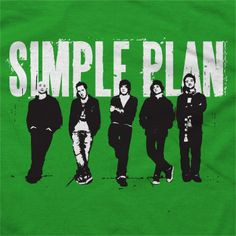 Simple Plan - Band on Green - T-shirts - Official Merch - Powered by ...