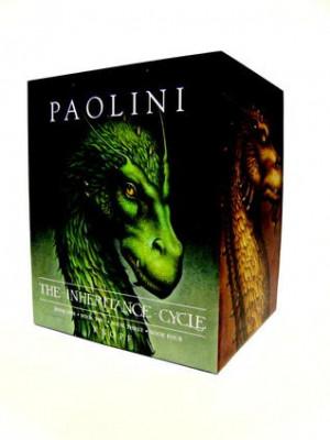 Inheritance Cycle 4-Book Hard Cover Boxed Set (Eragon, Eldest ...