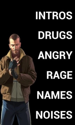 View bigger - Niko Bellic GTA IV Soundboard for Android screenshot