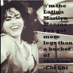 Lmao. Chi Chi Rodriguez. Too Wong Foo.