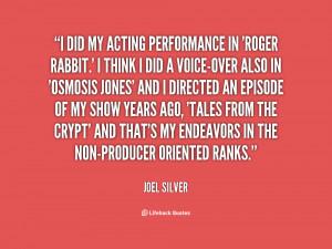joel silver quotes