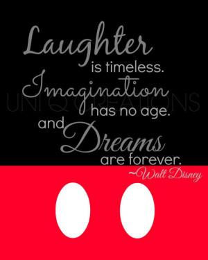 Walt Disney Quote Print, Digital Art, Wall Art, 8x10 Print, INSTANT ...