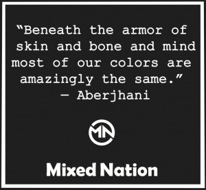 Beneath The Armor Of Skin And Bone And Mind Most Of Our Colors Are ...