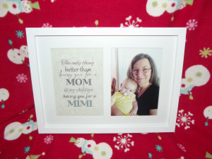 Sweet Mother In Law Quotes Framed quote and picture