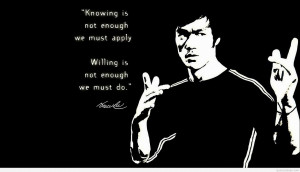 bruce lee quotes on strength