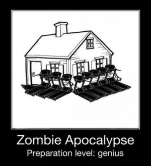 people for a zombie apocalypse, including my kid