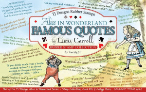 Alice in Wonderland: Famous Quotes - Alice In Wonderland...