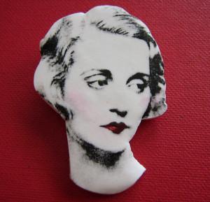 Tallulah Bankhead brooch