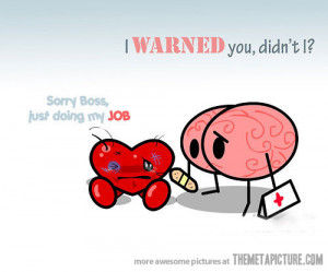 Funny Heart Vs Brain Jokes