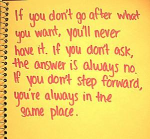 Do It Quote