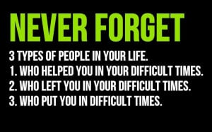 NEVER FORGET 3 types of people in your life- Life Quotes
