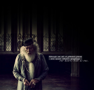 30 Days of Harry Potter | Day 8: Favorite Quote - Albus Dumbledore in ...