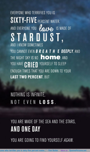 Finn Butler motivational inspirational love life quotes sayings ...