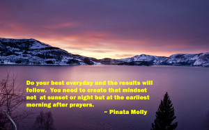 morning quotes & sun rise images
