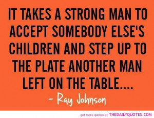 It Takes A Strong Man.....
