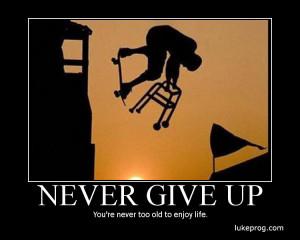 never give up 150x150 Never, Never, Never Give Up!