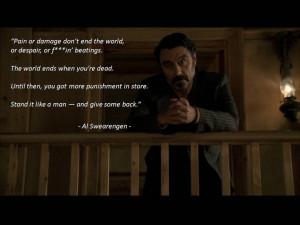 Al Swearengen Quotes Al swearengen - deadwood tv