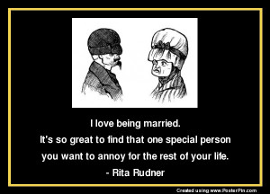 Witty Quotes about Married