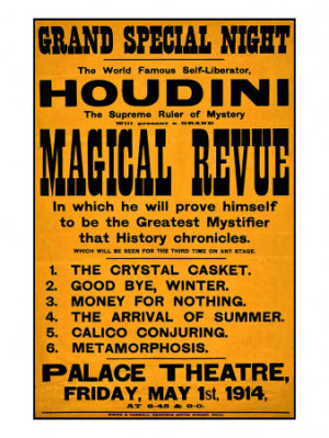 ... Harry Houdini. Recent quotes. View the latest Harry Houdini quotations