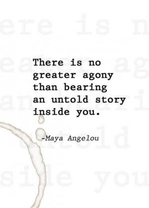 Maya Angelou  cM   Quotes