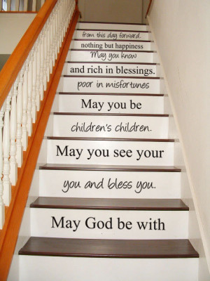 - STAIR CASE - Art Wall Decals Wall Stickers Vinyl Decal Quote ...
