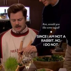 Ron Swanson quotes : parks and rec