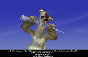 28 february 2002 titles ice age characters sid ice age