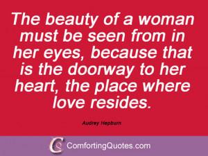 Quotations By Audrey Hepburn