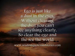hmm..so is ego good or bad? that's d question.