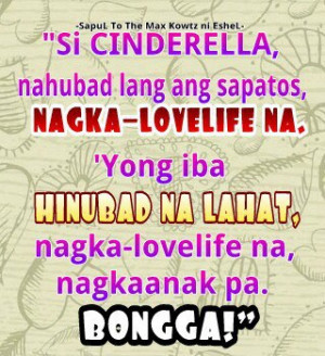 Tagalog Love Life Banat Quotes Image by Eshel