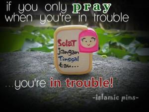 Islamic Pins To Remind People Do Shalah