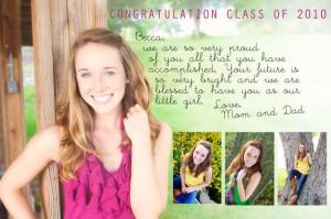 senior yearbook ad ideas | ... blog/103/class-2011-high-school-senior ...