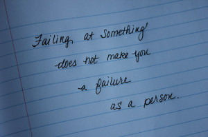 ... fear of failure is what is keeping most back from attempting to set