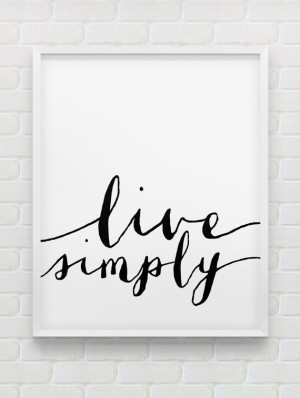 ... print // black and white home decor // minimalistic modern wall decor