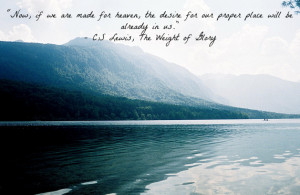 These are some of my favorite C.S Lewis quotes.