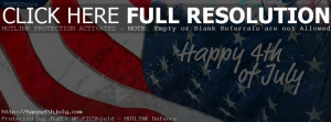 4th Of July Facebook Banner