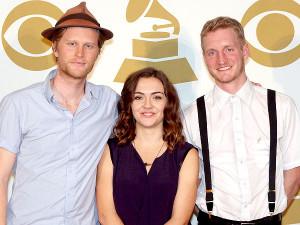 From left: Wesley Schultz, Neyla Pekarek and Jeremiah Fraites