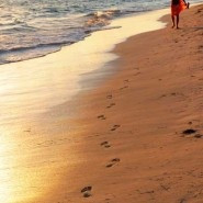 Inspirational quote: Footprints