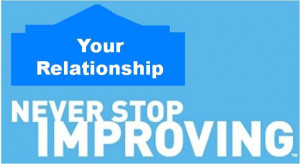 ... ' Tagline and apply it to your relationship