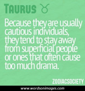 in collection taurus quotes