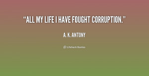 Quotes About Corruption