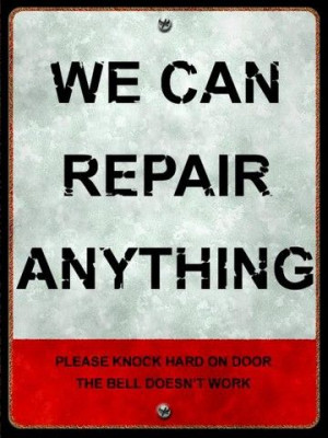 . . . ha! Auto Repair, Dust Jackets, Red Boxes, Funny Signs, Repair ...