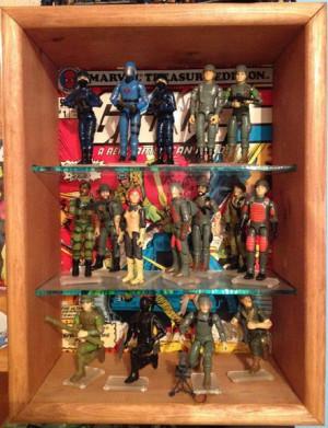 com > Playsets > G.I. Joe > ARAH GI Joe & Cobra Treasury Display