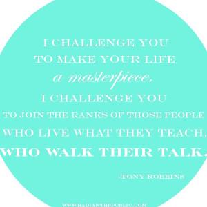 Tony Robbins via Radiant Republic
