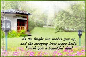 Wishing You Beautiful Day Rose