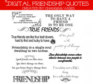 ... Collection 10 Quotes - Words and Phrases Clip art - Best Friends