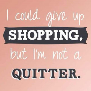 shopping #quote