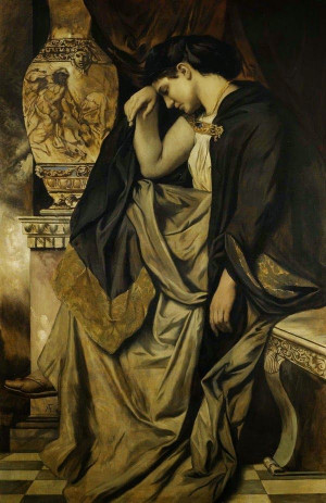 Medea - Anselm Feuerbach ~ In Greek mythology, Medea was the daughter ...