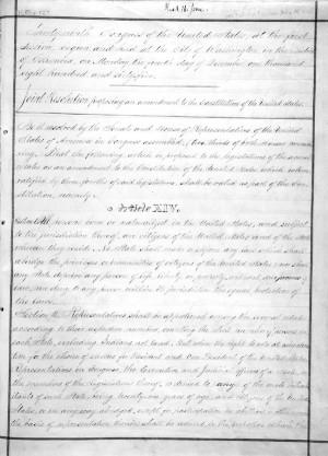 Fourteenth Amendment to the U.S. Constitution