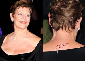 5a9a62915c Judi Dench 007 tattoo Judi Dench Quotes